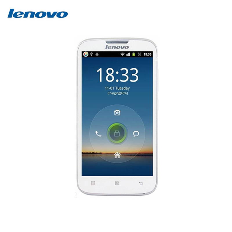 Original LENOVO A560 5 0 inch Snapdragon MSM8212 quad core Android 4 3 2MP 512MB RAM