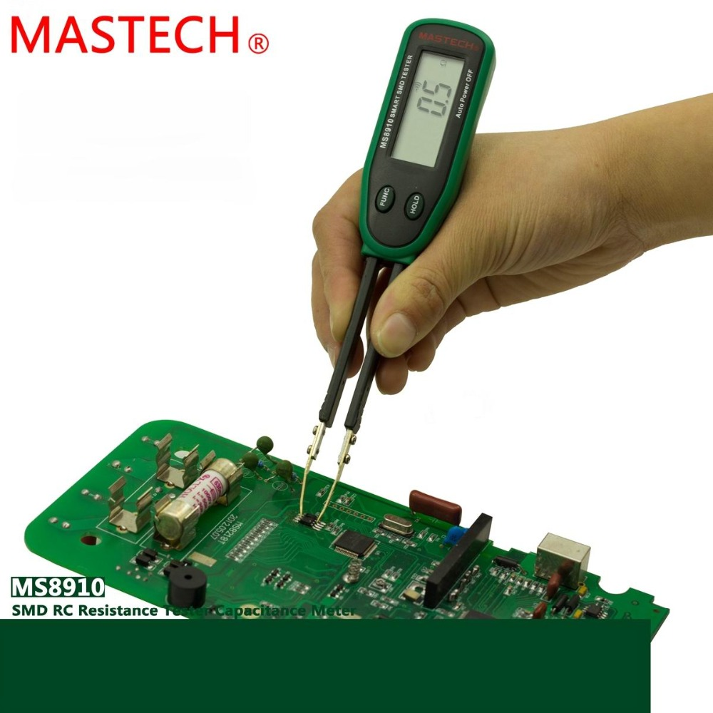 Mastech MS8910 Smart SMD Tester RC Resistor Capacitor Diode Meter Multimeter