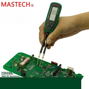 Smart SMD Tester MASTECH MS8910 Digital Multimeter 3000 counts RC Resistance Capacitance Diode Meter Tester Auto Scan(China)