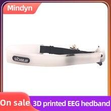 Eeg носимое устройство bluetooth 20 3d печать повязка на голову