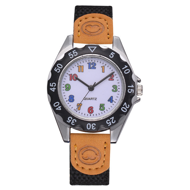 limited edition children's watches funnny Colorful lether cute Arabic child wris
