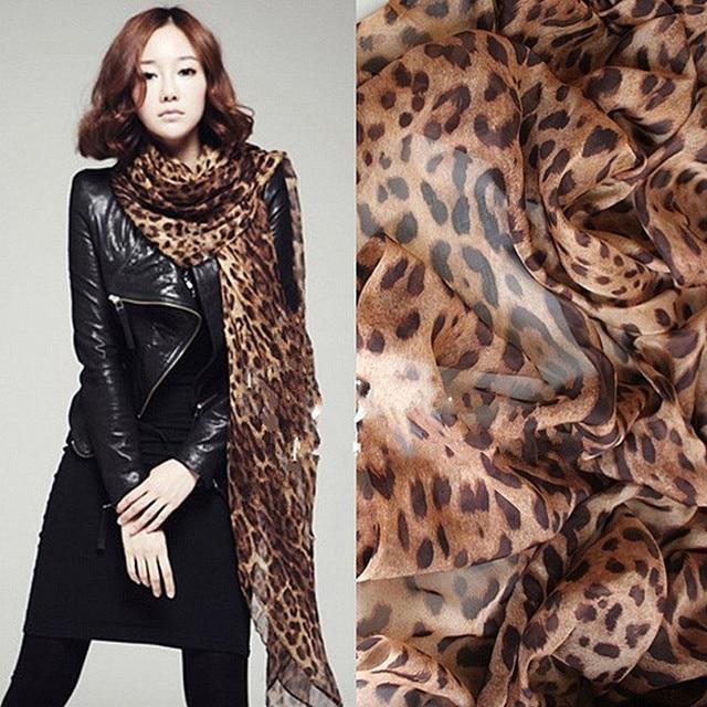 W019 Hot! Fashion New Year Christmas Gifts Winter Scarf Fashion Wild Leopard Scarf Shawl Jewelry