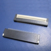 Laptop Keyboard Socket 0.8 Spacing 26 Pin Flip Continued LCD Screen Socket