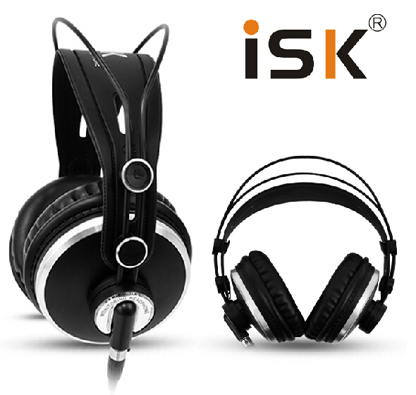 ISK HP980/HP-980 Noise Cancelling Super Bass Closed Back Hifi DJ Studio Monitoring Headphones Headset PK K271S K272 image