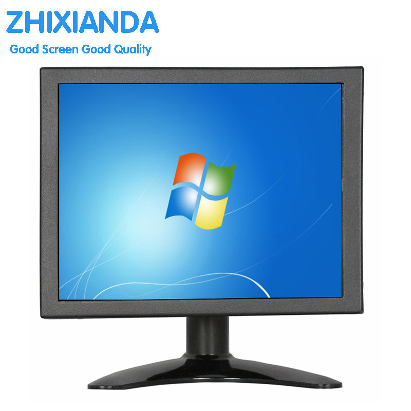 8 inch VGA AV BNC industrial security LCD monitor High-definition computer monitors with AV/BNC/VGA/HDMI/USB interface zgynk 10 1 inch open frame industrial monitor metal monitor with vga av bnc hdmi monitor