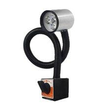 CLAITE 6 Вт Светодиодный промышленный станок с ЧПУ Токарный Инструмент светильник 50 см лампа для рабочего стола фрезерный станок светильник s с американской вилкой 90-220 В