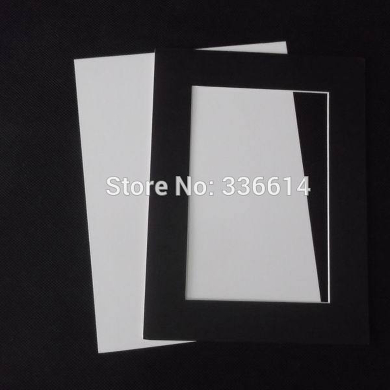 45 Degree Bevel Cut Cardboard Wall Hanging Picture Frame 4x6 ...