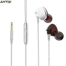 hot deal buy joytop running earphones bass ear hook headset  with microphone sports headphones for mp3 music player for smart phone earphones