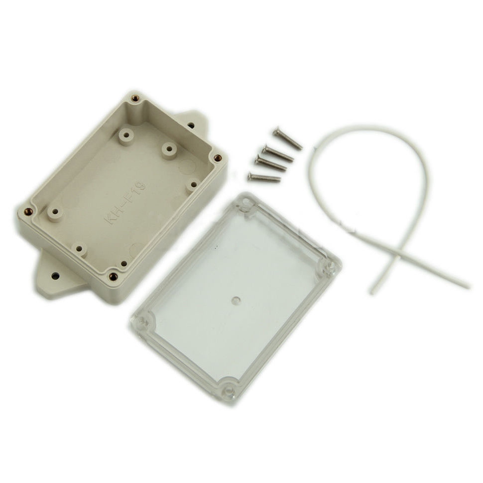 Waterproof Plastic Electronic Project Box 85x58x33mm Cover Enclosure Instrument Case Electrical Supplies VE838 P0.5