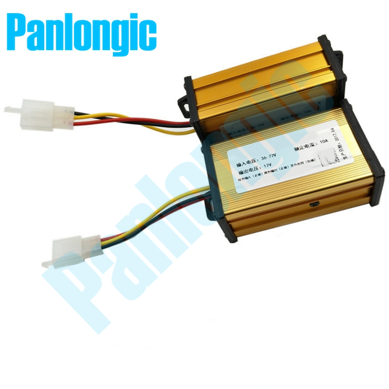 Electric Car & Electric Vehicle Battery DC to DC Converter 36V 48V 60V 72V Convert to 12V Converter Universal  Voltage Converter