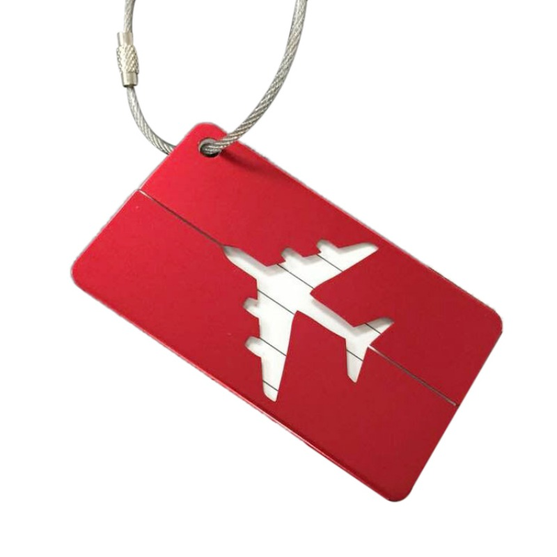 outdoor tools Aluminium Alloy Luggage Tags Baggage Name Tags Suitcase Address Label Holder outdoor Travel Accessories