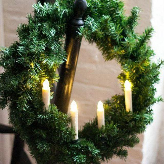 Набор из 10 мерцающих дистанционным светодио дный управлением LED taper свеча teaLight w/7 ключей контроллер и клип Свадьба Рождество Xmas Декор-теплый белый