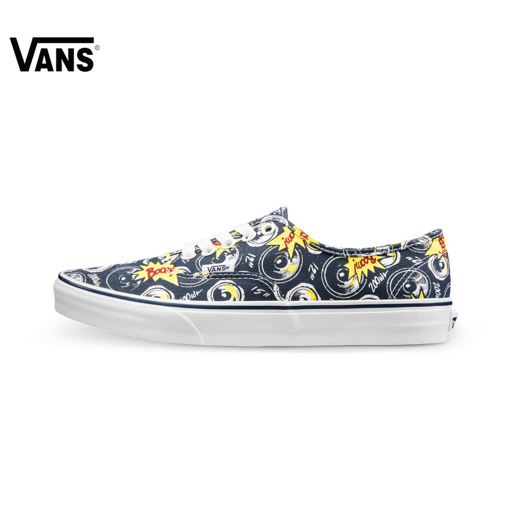 Original Vans Unisex Skateboarding Shoes Canvas Shoes Sneakers Sports Shoes free shipping