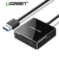 Ugreen High Speed Aluminum USB 3 0 4 Port USB HUB Splitter With Micro USB Charging