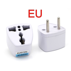 Image 4 - New Arrival 1 PC Universal UK US AU to EU AC Power Socket Plug Travel Electrical Charger Adapter Converter Japan China American