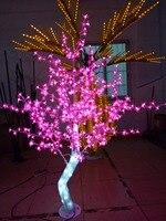 Nuevo Libre ship5ft 1 5 M de altura al aire libre LED de cristal de árbol de