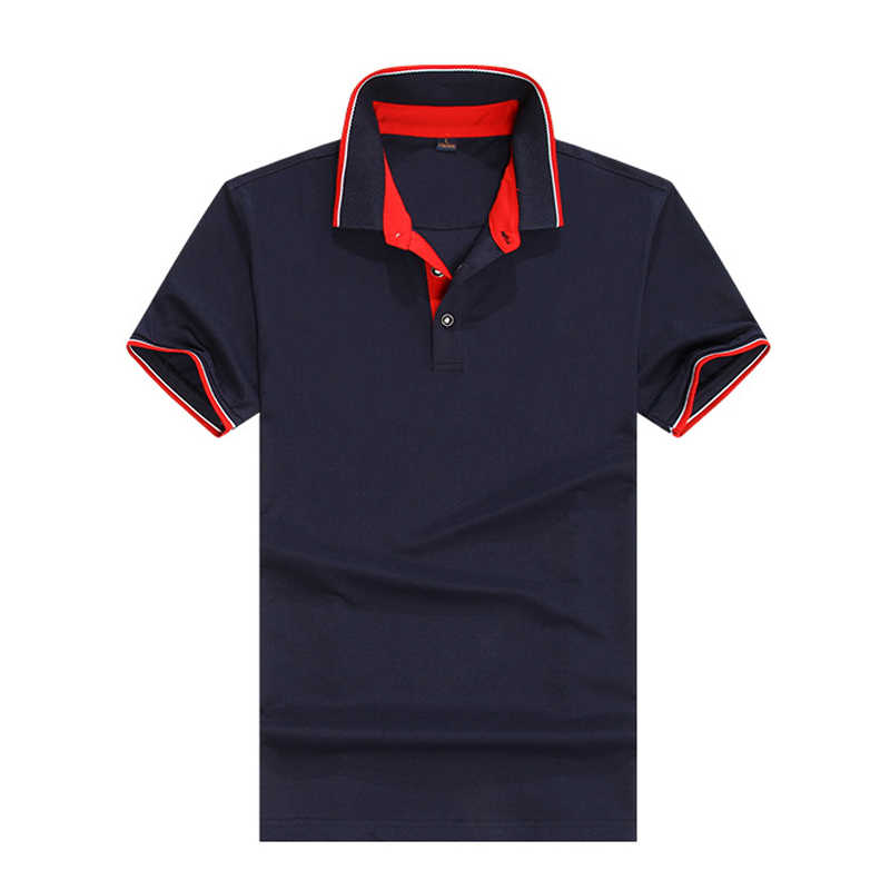 Breathable Brand New 2019 Arrived Polo Shirts Short Sleeves Men Classic Design Solid Color S-3XL