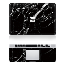 Black Marble Texture Pattern Top+Keyboard Rest Vinyl Decal Laptop Skin Sticker For Macbook Air 11″13″ Retina Pro 13″15″New Mac12