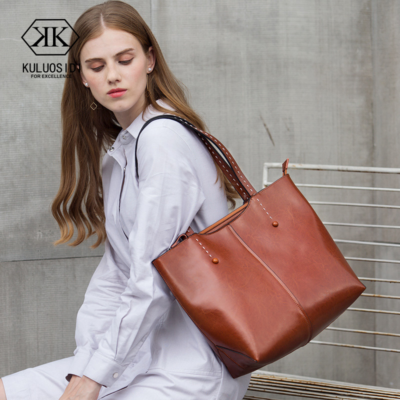 Large Capacity Genuine Leather Bags Women Leather Handbag Shoulder Bag For Women Tote Bag Genuine Leather 2018 Sac a Main Femme la maxza gifts for valentine s day leather tote bag for women large commute handbag shoulder bag zipper women s work satchel bag