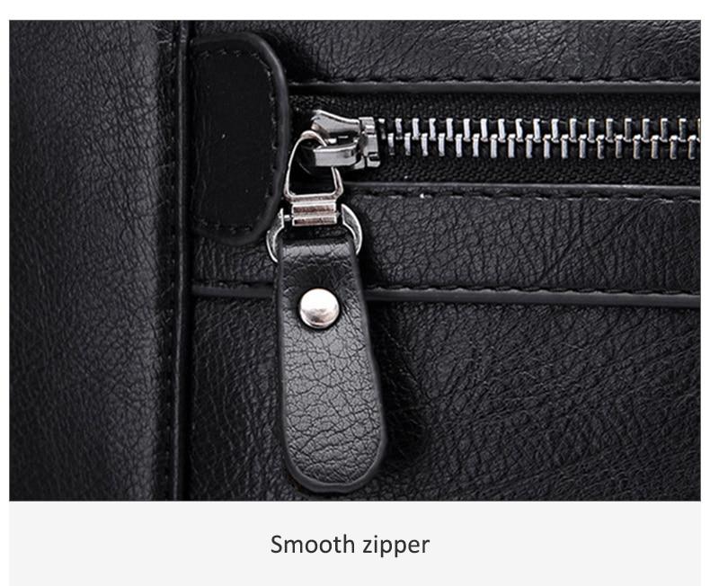 HTB1Iz6TJ3HqK1RjSZFPq6AwapXa0 Men Leather Black Briefcase Business Handbag Messenger Bags Male Vintage Shoulder Bag Men's Large Laptop Travel Bags Hot XA177ZC