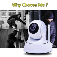 2 8mm IP Camera Wi Fi HD 720P PTZ Wifi Camera Security Network Mini Camera Night