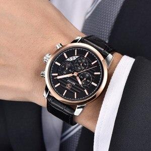 Image 4 - BENYAR Top Brand Luxury Stainless Steel Watch Men Business Casual Quartz Watch Military Wristwatch Waterproof Sport Relogio 2020