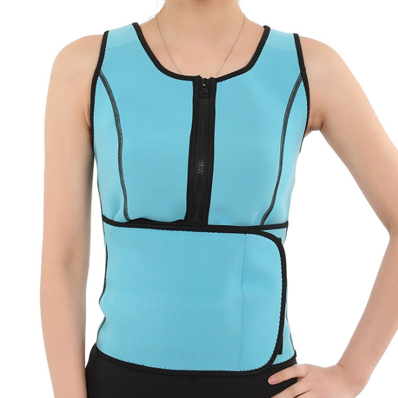 Hot Neoprene Waist Adjustable Belt Sweat Sauna Slimming Belt Body Shaper Waist Trainer Vest Workout Shapewear Dropshipping 1