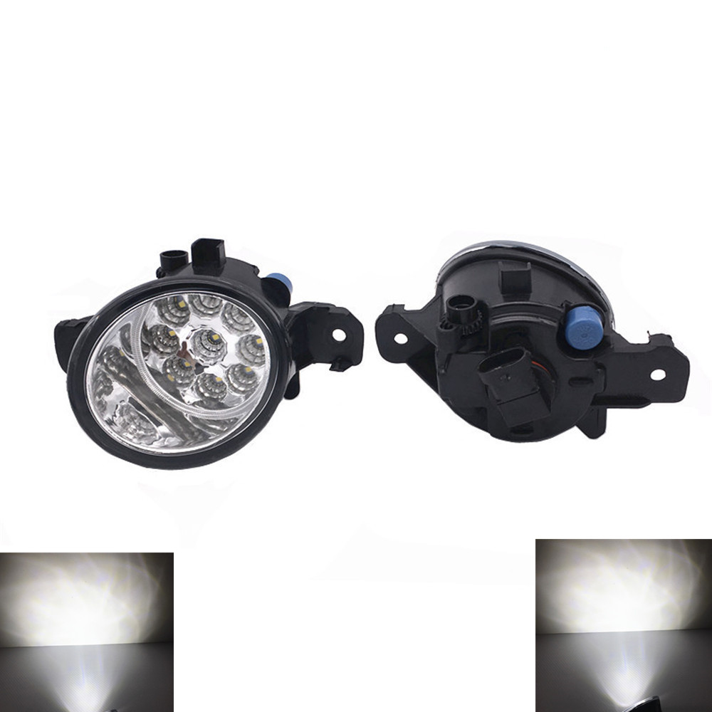 2pcs/lot Tempered Glass H11 12V 55W Halogen/<font><b>Led</b></font> Fog Light For <font><b>Renault</b></font> <font><b>Modus</b></font> 2004-2010 2011 2012 2013 2014 2015 image