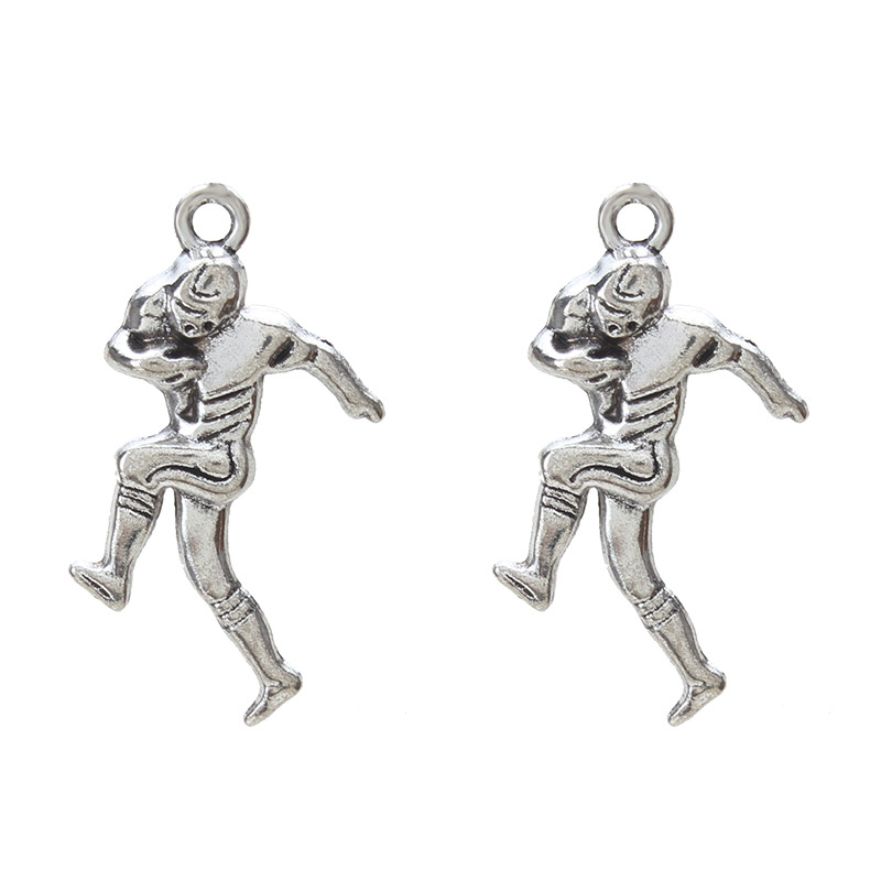 Aliexpress.com : Buy 10pc/lot Athlete Charms Antique