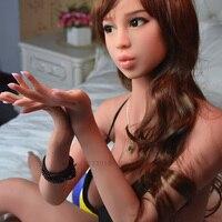 6ye 170 cmjapanese полный размер тела жизнь любовь куклы для человека B чашки груди, реалистичные Твердые Силиконовые Секс кукла с металлическим кар