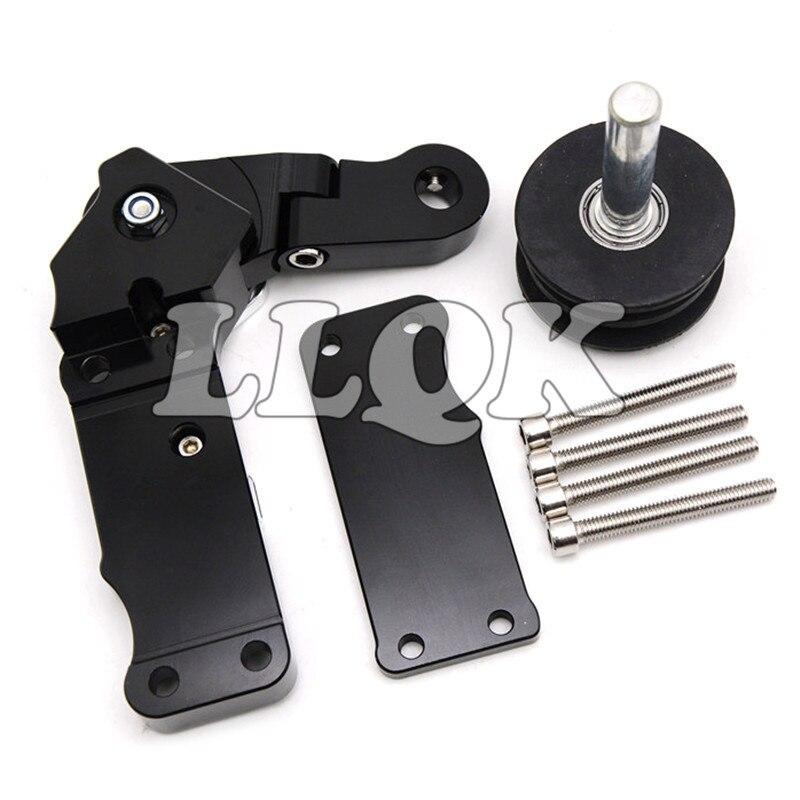 ФОТО Universal CNC  aluminum  Adjustable Conversion Motorcycle Chain Tensioner  regulator For YAMAHA FZ1 FZ8 Fazer FZ1N FZ6 N/S/R
