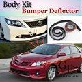 Para TOYOTA Corolla Pára Lábio/Lábio Dianteiro Spoiler Para Carro amigos para Carro Tuning/TOPGEAR Body Kit/Tira Saia