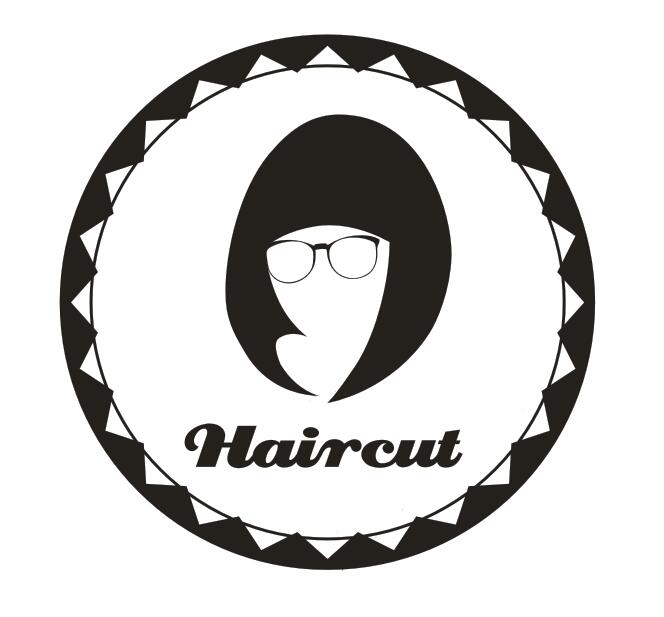 Hair Salon Wall Decal Hair Cut Sign Logo Girl Hair Shop Mural Art Wall Sticker Hair Salon Glass Window Decoration