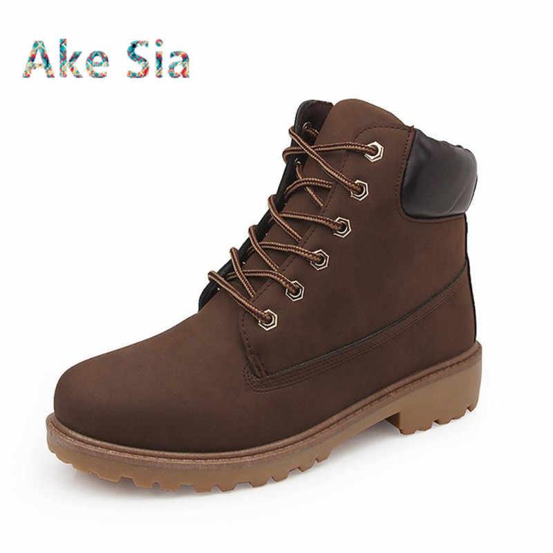 58806154 ... Новый осень 2017 г. зимние сапоги мужская зимняя обувь камуфляж теплый  плюш модные брендовые мужские ...