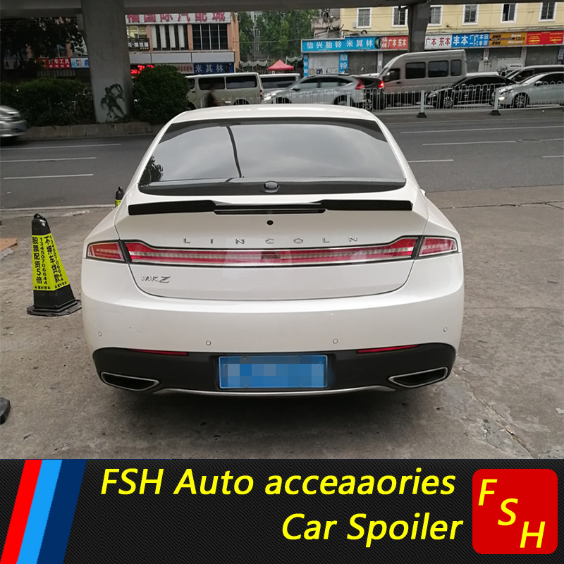 2017 Lincoln Mkz Select >> For Lincoln MKZ Spoiler Carbon Fiber Material Performance Style Spoiler For Lincoln MKZ Spoiler ...