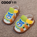 J.G Chen Baby Boy Shoes First Walkers With Bear Design 3 Colors For Little Kids Boys Girls Shoes Soft Fashion Comfortable