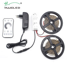5M 10M Led Strip Light 2835 SMD Non-waterproof Flexible Lighting Ribbon Tape Remote Dimmable Warm White DC 12V Indoor Lighting 5m 10m dual color cri 95 smd3528 cct dimmable led strip light 24v dc ww cw color temperature adjustable flexible led tape ribbon