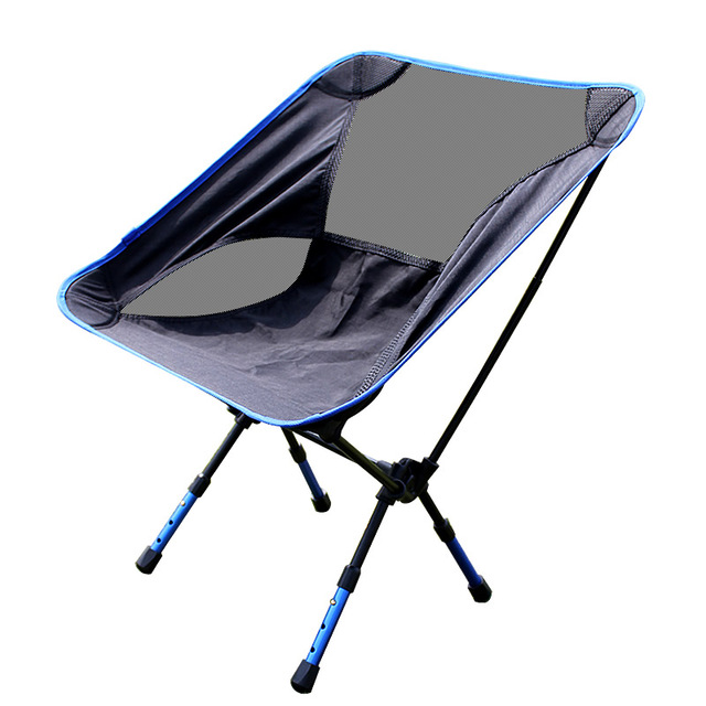 Stainless steel beach chair siege pliant multifunctional garden chair