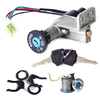 New 4Pin Ignition Key Switch Lock Toolbox Cushion Lock Kit Fit For 50cc 150cc GY6 Chinese