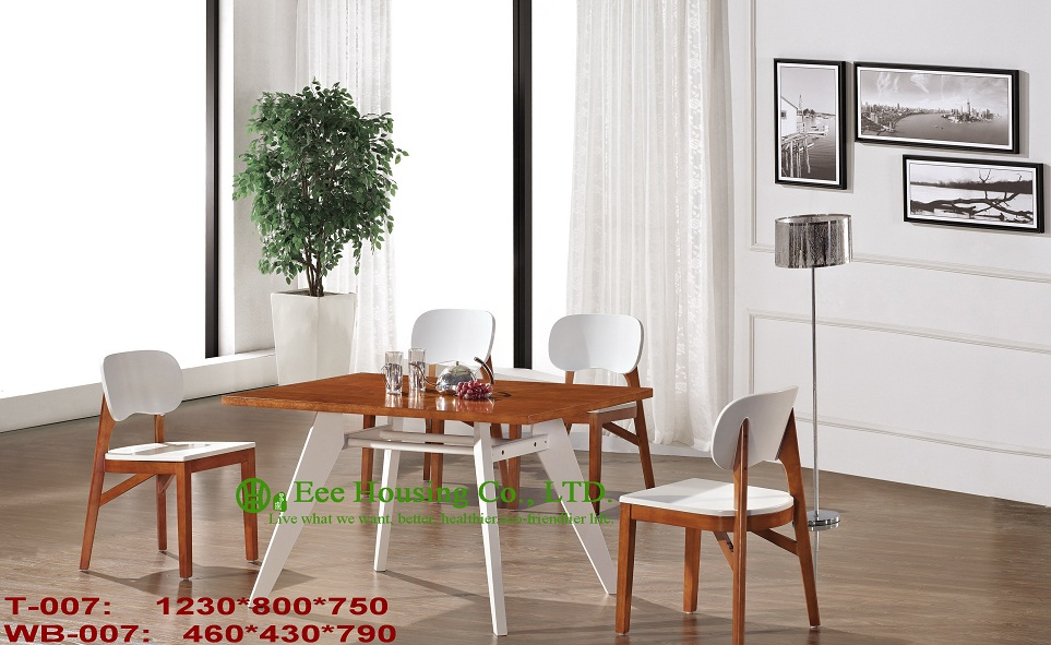 T-007,WB-007 Luxurious Solid Dining Chair,Solid Wood Dinning Table Furniture With Chairs/Home Furniture