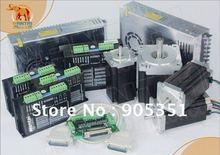 цена на Nema 34 Wantai Stepper Motor with 892OZ-In &Control 4 Axis CNC