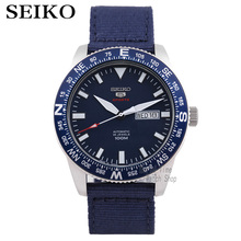 Seiko שעון גברים 5 אוטומטי שעון יוקרה מותג עמיד למים ספורט שעון יד תאריך mens שעונים צלילה שעון relogio masculino SKX
