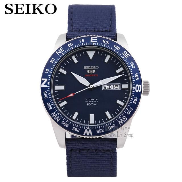 Seiko Horloge Mannen 5 Automatische Horloge Luxe Merk Waterdichte Sport Polshorloge Datum Heren Horloges Duikhorloge Relogio Masculino Skx