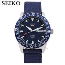 Seiko uomini della vigilanza 5 automatico orologio di Lusso di Marca Impermeabile Sport Orologio Da Polso Data mens orologi immersione subacquea della vigilanza relogio masculino SKX