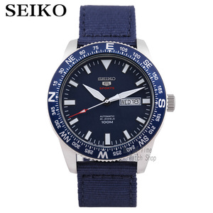 Image 1 - seiko watch men 5 automatic watch Luxury Brand Waterproof Sport Wrist Watch Date mens watches diving watch relogio masculino SKX