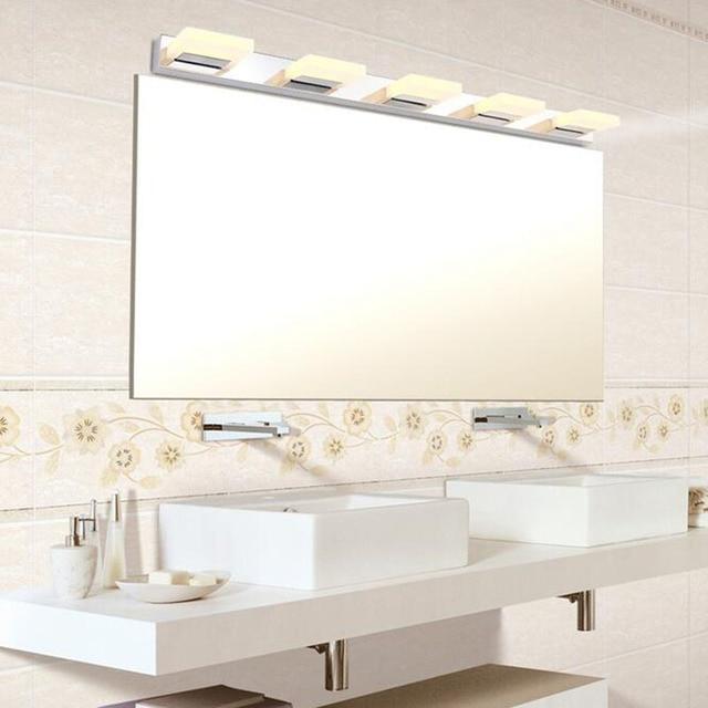 LED Moderne Acryl Wandlamp Badkamer Spiegel Licht, roestvrij ...