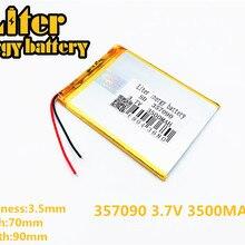 """Для """" Irbis TX52 TZ41 TZ42 TZ43 TZ46 TZ45 TZ53 TZ70 TZ72 TZ736 TX01 TZ02 TZ01 планшет Батарея внутренняя 3500 мАч 3,7 в полимерный литий-ионный аккумулятор"""