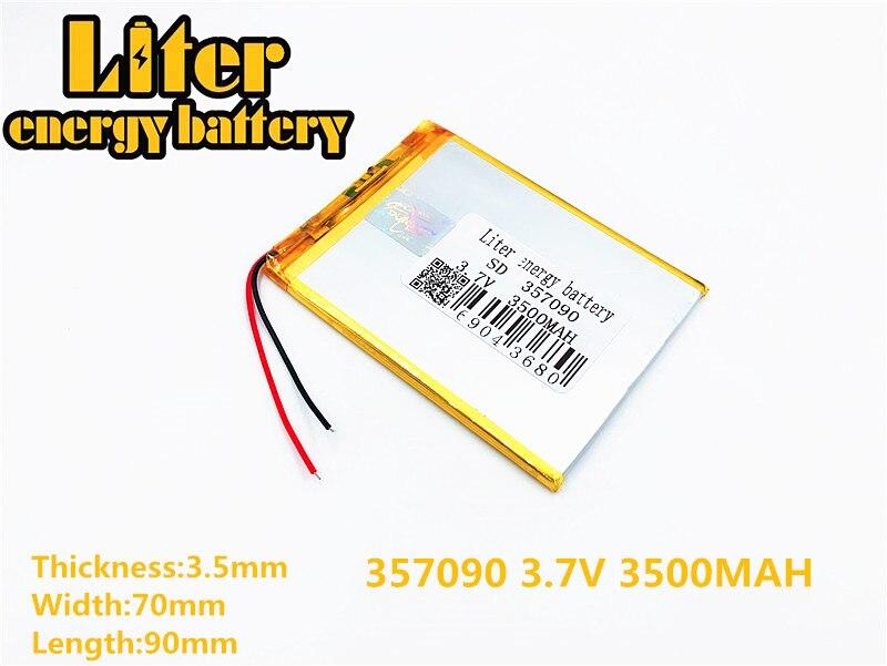 """Pour 7 """"Irbis TX52 TZ41 TZ42 TZ43 TZ46 TZ45 TZ53 TZ70 TZ72 TZ736 TX01 TZ02 TZ01 Tablette Batterie intérieure 3500 mah 3.7 V li-ion Polymère"""