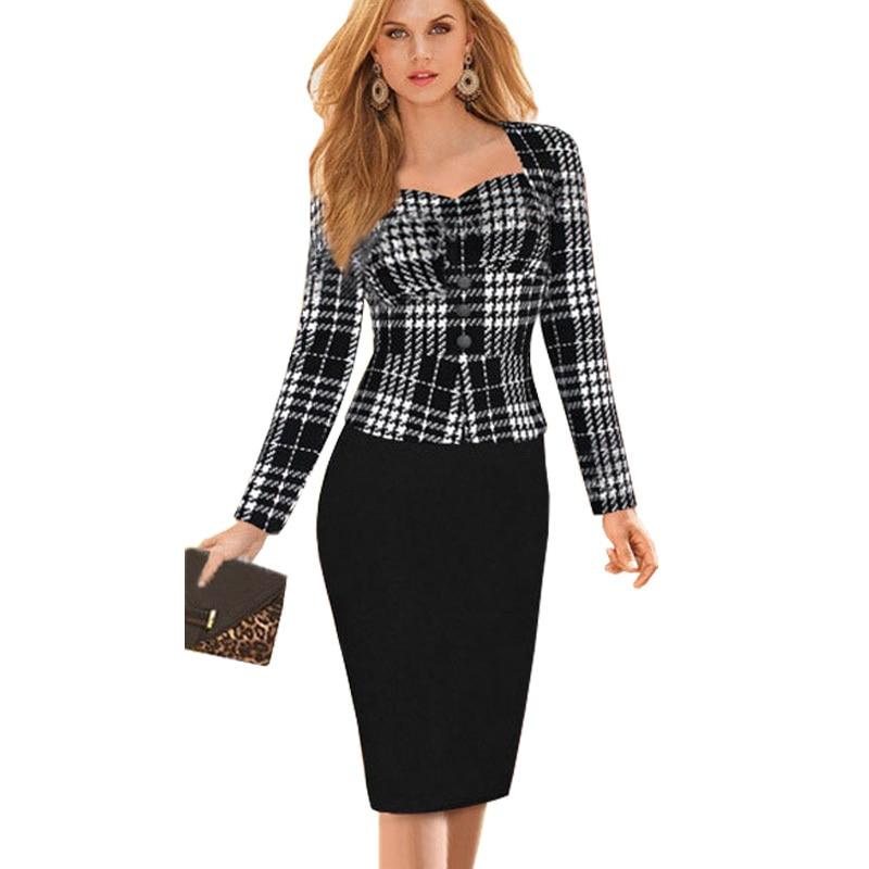 Aliexpress.com : Buy Women Autumn and Winter Dress Suits Elegant ...