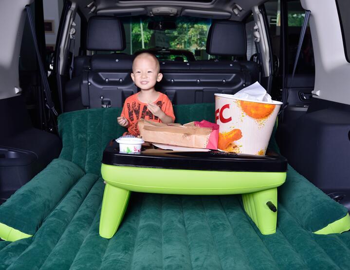 DHL Бесплатная Доставка! Надувной матрас для внедорожника, для путешествий, кемпинга, заднего сиденья автомобиля, матрас для сна с воздушным ... - 6